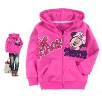 full zip hoodie - Boy Kids Jacket Boys Coats Baby Wear NEW Baby Kids Boy Minnie Mouse Stripe Zip Hoodie Jacket Hot Kids Breathable and Warm Outwear