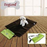 Wholesale Pet Dog Bed Outdoor Portable Blanket Medium Large Dog Travel Blanket