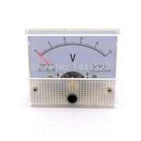 Оптово-10V DC Аналоговый Вольт Напряжение метр панели Вольтметр Gauge 0-10В 85C1 Три года гарантии