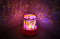 Wholesale Hot sell Colorful cosmos stars laser LED projector Star Projector Lamp LED Night light lantern romantic lover stars kiss style fee shipping
