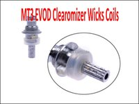Wholesale MT3 Coils EVOD Wicks ohm ohm ohm ohm for MT3 EVOD Atomizer Clearomizer for Electronic Cigarette E Cigarette Clearomizer Coils