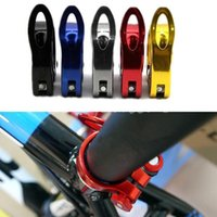 Wholesale Fashion Colors Alloy Aluminum mm Mountain Road Cycling Bike Bicycle Quick Release QR Seatpost Seat Post Bolt Binder Clamp order lt no