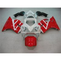Wholesale Honda Fit Year CBR600 F4I Motorcycle Fairing Kit Red White Combo Painting Custom Motorbike Parts Injection Mold