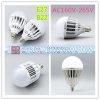 Wholesale New Arrival W E27 B22 AC160V V SMD LED Lamp White Warm White Energy Saving Light Global LED Bulb Lamps