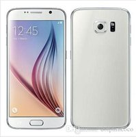 Wholesale Android S6 G920F Dual Core Smartphone RAM GB ROM GB Metal Side Show inch MP GPS G Cell Phone