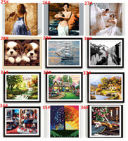 oil paint by numbers - Frameless Digital oil painting diy x50 paint by number kits unique gift acrylic painting paint by number kits home Decor