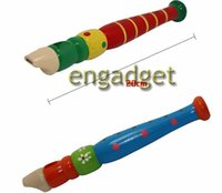 Wholesale Orff instruments wooden color small piccolo Fancy fun toys