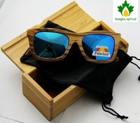 Wholesale 2014 Pure wood sunglasses handmade bamboo sunglasses