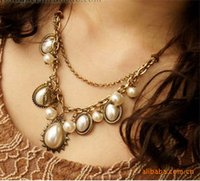baroque pearl pendants - 2015 Rushed New Arrival Pendant Necklaces Middle Eastern Women s Multi Layer Necklace Gold Factory Outlets Baroque Pearl Drop Stb343