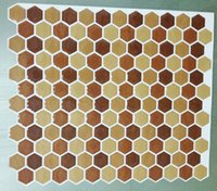 adhesive laminate flooring - PU resin Plate Mosaic Background Wall Puzzle Mosaic Tile Adhesive Floor Tiles Mosaic Wall Tile Laminate Floor sticker