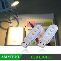 Wholesale 2016 HOT LED New Mini USB LED Night light Camping lamp For Laptops Computer Notebook Mobile Power Charger Reading book Bulb Warm White