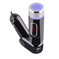universal acura phone - Separatly Stereo Bluetooth Car Kit MP3 Player Wireless FM Transmitter TF LED Display Handsfree USB V