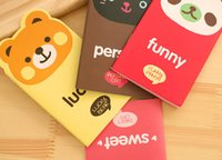 best notebook kids - Cute Cartoon Animal Sticky Note Sweet Cat Panda Bear Colorful Notebook Studens Message Notebook Kids Best Gifts