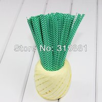 Wholesale Green Polka Dot Gift Wrap Bag Twist Tie