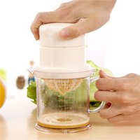 Wholesale 400ml Hand Juicers Multifunction Orange Lemon Fruit Citrus Juicers