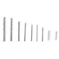 Flexsteel 25 pièces HSS haute vitesse mini manuelle manuelle Twist Drill Bits Set 0.5MM-3MM