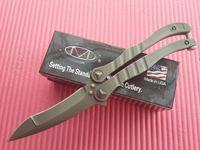 Wholesale Microtech Metalmark BK32 Butter fly Knife EDC OTF survival knife Folding blade knife knives C blade new in original box