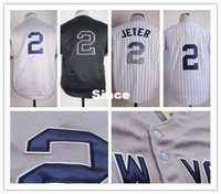 Baseball buy direct from china - 30 Teams Authentic Derek Jeter Jersey Sports Cool Base Cheap MLB Baseball jersey Buy direct from china