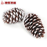big logs - Christmas tree ornaments cm with snow Christmas big pine log g supplies natal snowflake crafts hanging party supplies