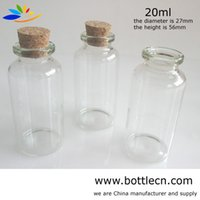Cheap glass bottle with cork Best glass bottle with cork to