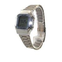 azan watch - Stainless Steel Muslim Azan Watch Pray Wrist Watch with Qibla direction Hijri and Gregorian calendar HA