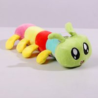 big bugs - hot sell cm colorful caterpillars plush toys The centipede big bugs doll insect toy WJ02