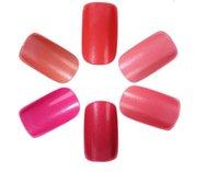 Cheap red nail Best fake nail