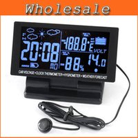 automotive forecasts - off per order LCD Display Car clock with Hygrometer Digital Automotive Thermometer Weather Forecast