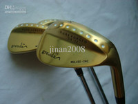 Wholesale 2011 golf Grenda D8 wedges Gold color model degree with steel shaft