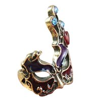 Wholesale Punk mask rings finger ring Lady s rings fashion jewelry rings high quality
