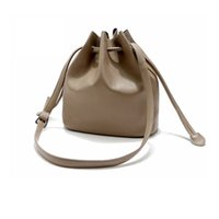 Wholesale QLIVEW spring and summer new PU material bucket bag European and American fashion bag five colors and