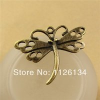 Wholesale A2877 Vintage Alloy Jewelry Accessory Charms Dragonfly