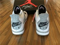Wholesale Nike dan White Cement Men Basketball Sport Shoes Size