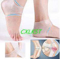Wholesale Silicone Moisturizing Gel Heel Socks Cracked Foot Skin Care Protectors Cushion Brand New
