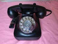 bakelite telephone - Product phase function well early bakelite shell dial telephone dial old phone have Detailing
