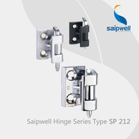 Wholesale Saipwell SP212 shower screen pivot hinges zinc alloy concealed hinges for furniture furniture ratchet sofa hinges Pack