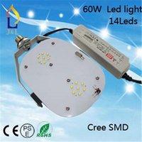2016 Nuevos productos de luces 6pcs / lot LED de la lámpara de iluminación replacment chip de reequipamiento 60W del Cree Meanwell poewr suministro de DHL