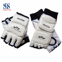 ankle support boot - Taekwondo Kwon Taekwondo Foot Protector Ankle Support fighting kickboxing gloves taekwondo protector WTF boots Palm protect T0311