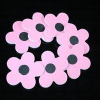 flower nail - 50pcs cm grit flower shape Professional Nail Files Buffer Buffing Slim Crescent Grit Sandpaper