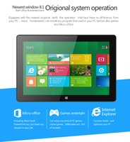 Wholesale DHL Intel Z3770 Quad core Inch Tablets PC x1200 FHD IPS Screen Windows GB RAM GB ROM