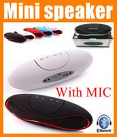 best loud speakers - Best Rugby Football Design Style mini portable bluetooth speaker super bass wireless Speaker Heavy Bass loud rechargeable speaker box MIS032