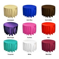 Wholesale Satin table cloths For Kids Children inch x45cm Home Textile Party Home Decoration TC