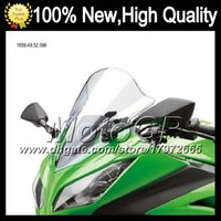 Wholesale Moto ABS Clear Windshield For HONDA ST1300 Pan European ST ST1300A ST Transparent Windscreen Screen