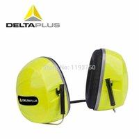 Wholesale Delta Plus Venitex SILVERSTONE Protective Ear Protector Defender Muff Plug Neck Band Yellow