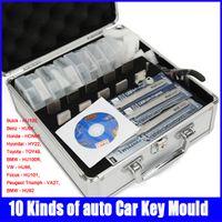 moulding machine - Honest Locksmith Kinds of Car Key Moulds for cars key duplicating machine Lock Pick Tools Set
