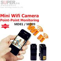 Wholesale Mini camcorders cam Md81 WiFi camera mini dv dvr spy camera hidden camcorder Video Record wifi hd mini camera Wireless IP Camera