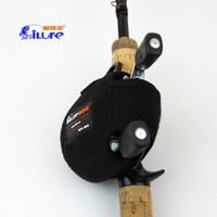 Wholesale Love the road sub drum reel package waterproof PU material package fishing impact resistance superior cotton felt preferred suspension