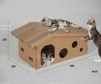 Wholesale toy cardboard cat scratcher pet toys cat scratcher cardboard toy