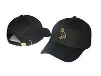 sport snapback hats - Drake OVO CLASSIC GOLD OWL DENIM Black SNAPBACK Caps Casquette OVO CORE COLLECTION HATS STRAPBACK SPORT CAPS Baseball Cap