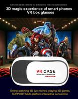 Wholesale VR glasses D box Virtual reality glasses mobile home theater D virtual VR BOX